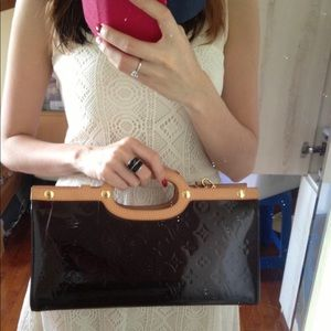 🔴↗️Louis Vuitton Vernis fancy 4 way bag